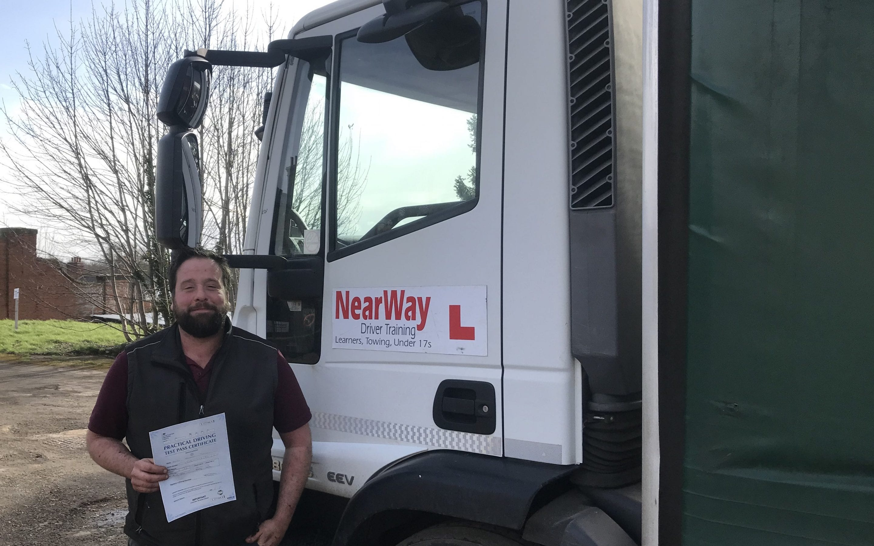 Chris Pearson HGV Class 2 driving course
