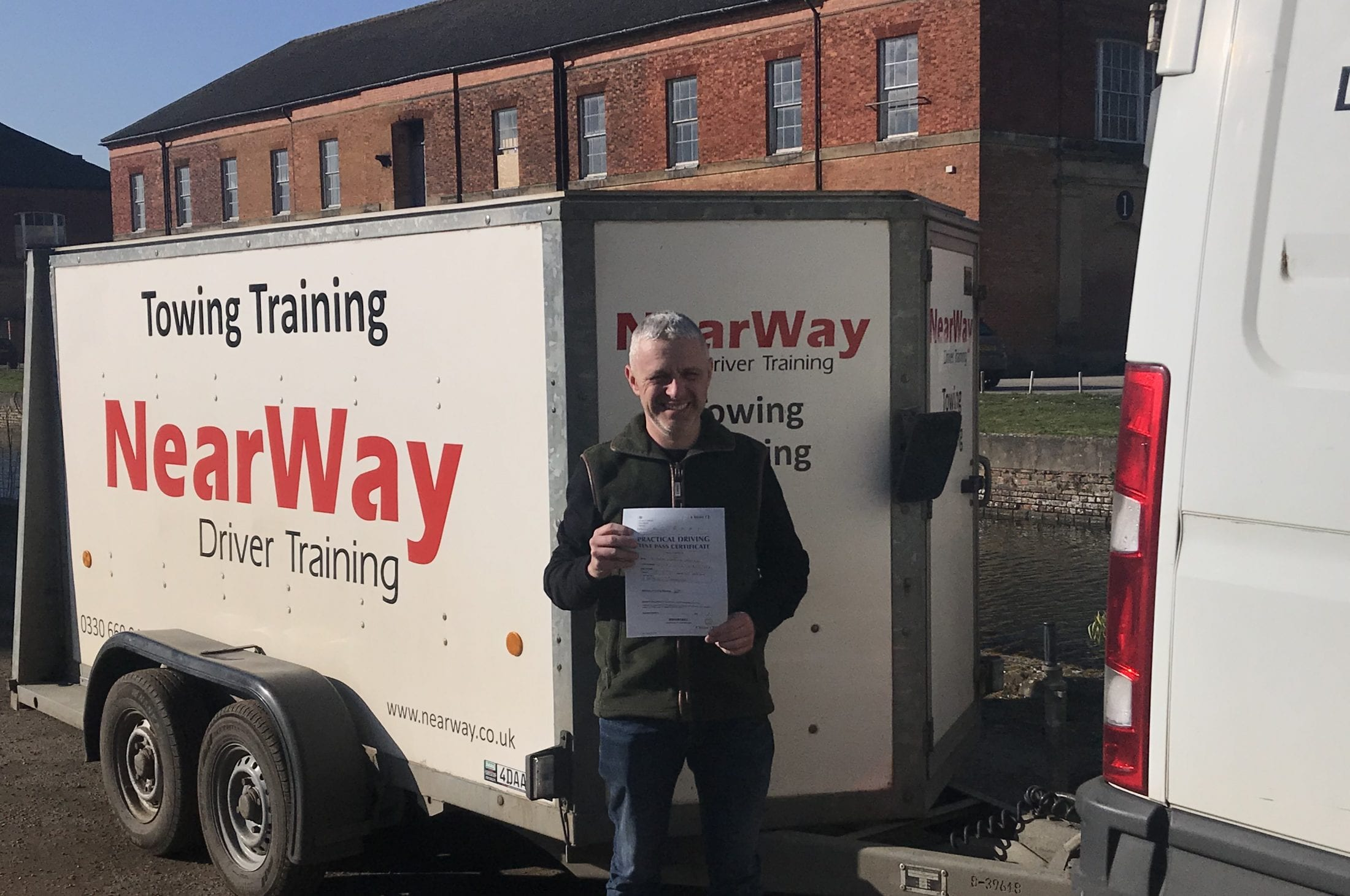 Wayne Woodfield C1+E Test Pass
