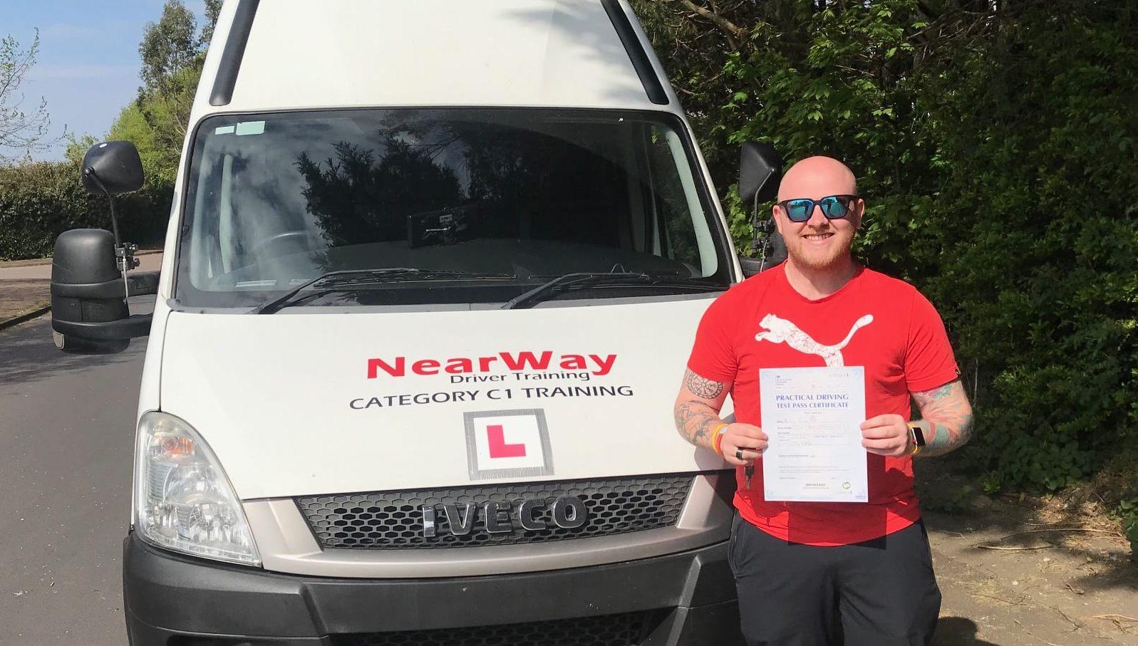 Ambulance driving test Craig Booth