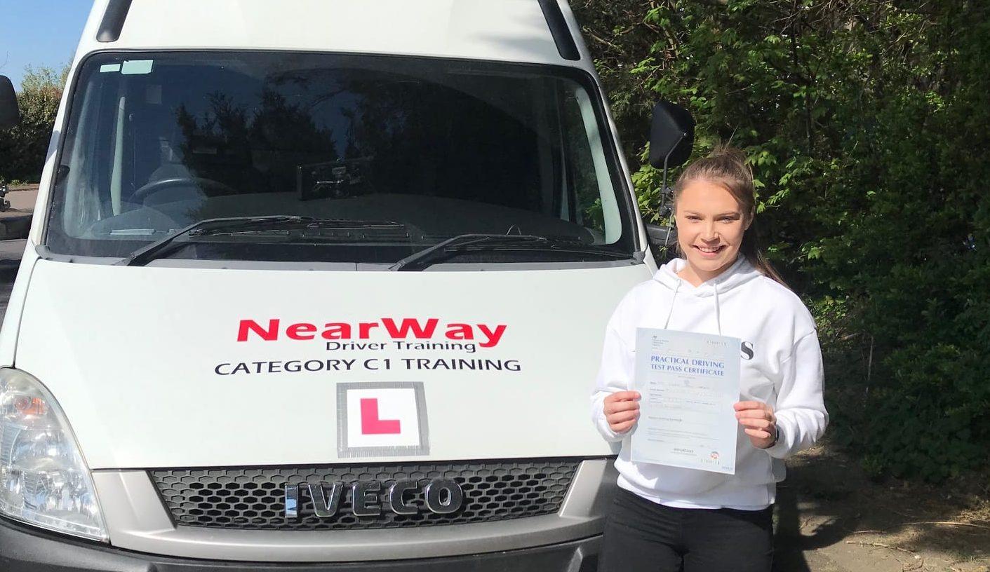 Critical Worker Ambulance Driving Test Lauren Andrews