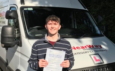 Dylan Evans C1 Driving Test