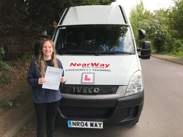 Beth Borland C1 Driver Training Oxford