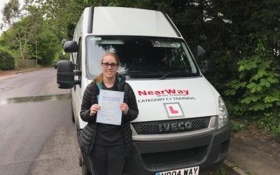 Chloe Grieve's Ambulance Driving Test Pass