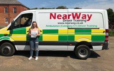 Emma Jones C1 Licence Warwickshire