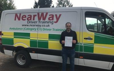 Garry Pamment C1 Ambulance Driving Test