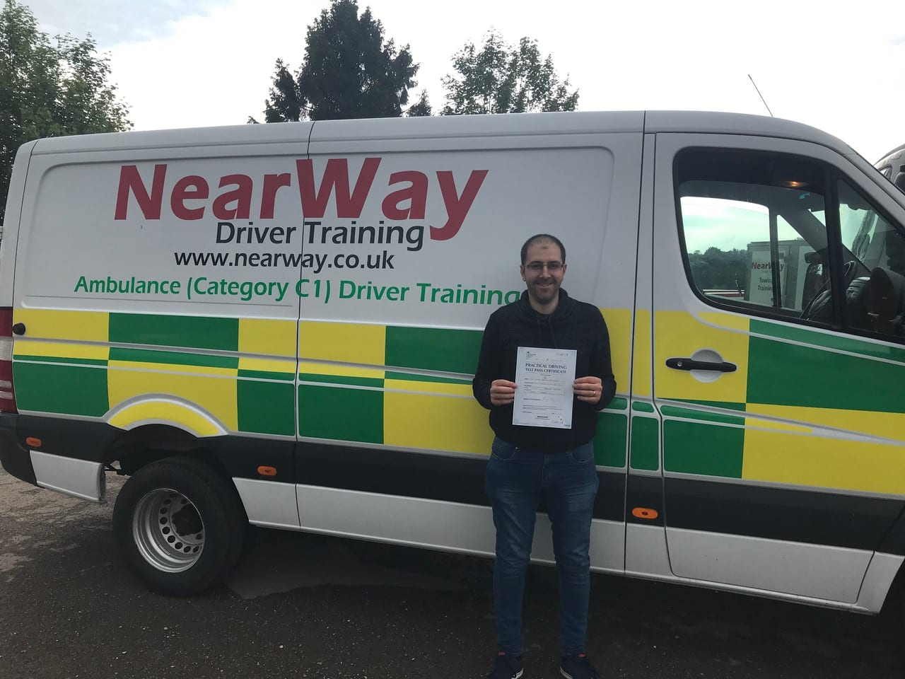 Garry Pamment C1 Ambulance Driving Test