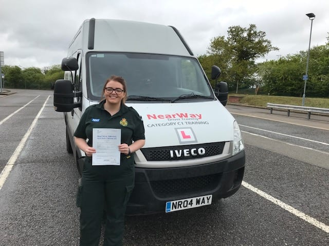 Kara Mathieson C1 Driving Test