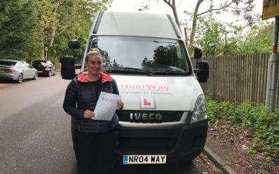Kelly Hill Ambulance Driving Test