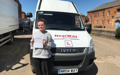 Lucy Cocker C1 Ambulance Driving Course