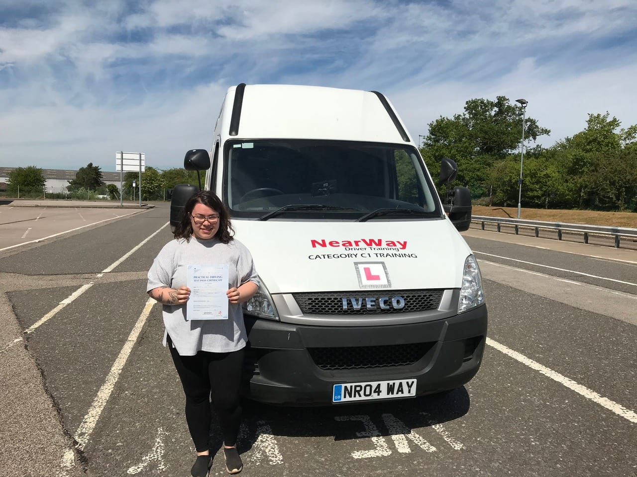 Mica Lee C1 Driving Test Milton Keynes
