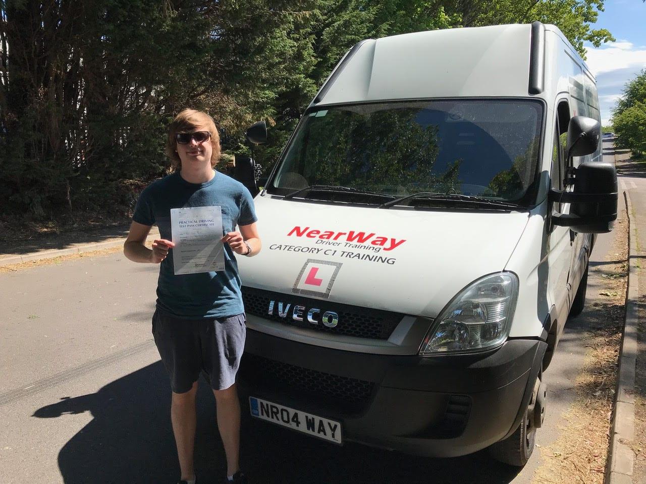 Oliver Moore C1 Test Northamptonshire