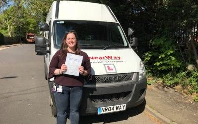 Saskia Campbell Ambulance Driving Test