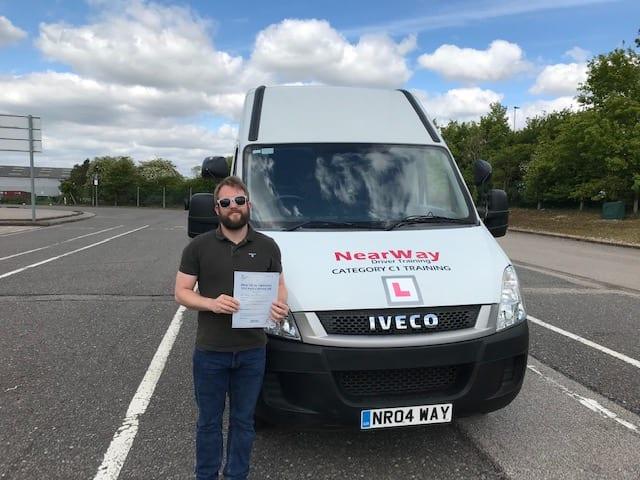 Thomas Bowen C1 Driver Training Oxfordshire