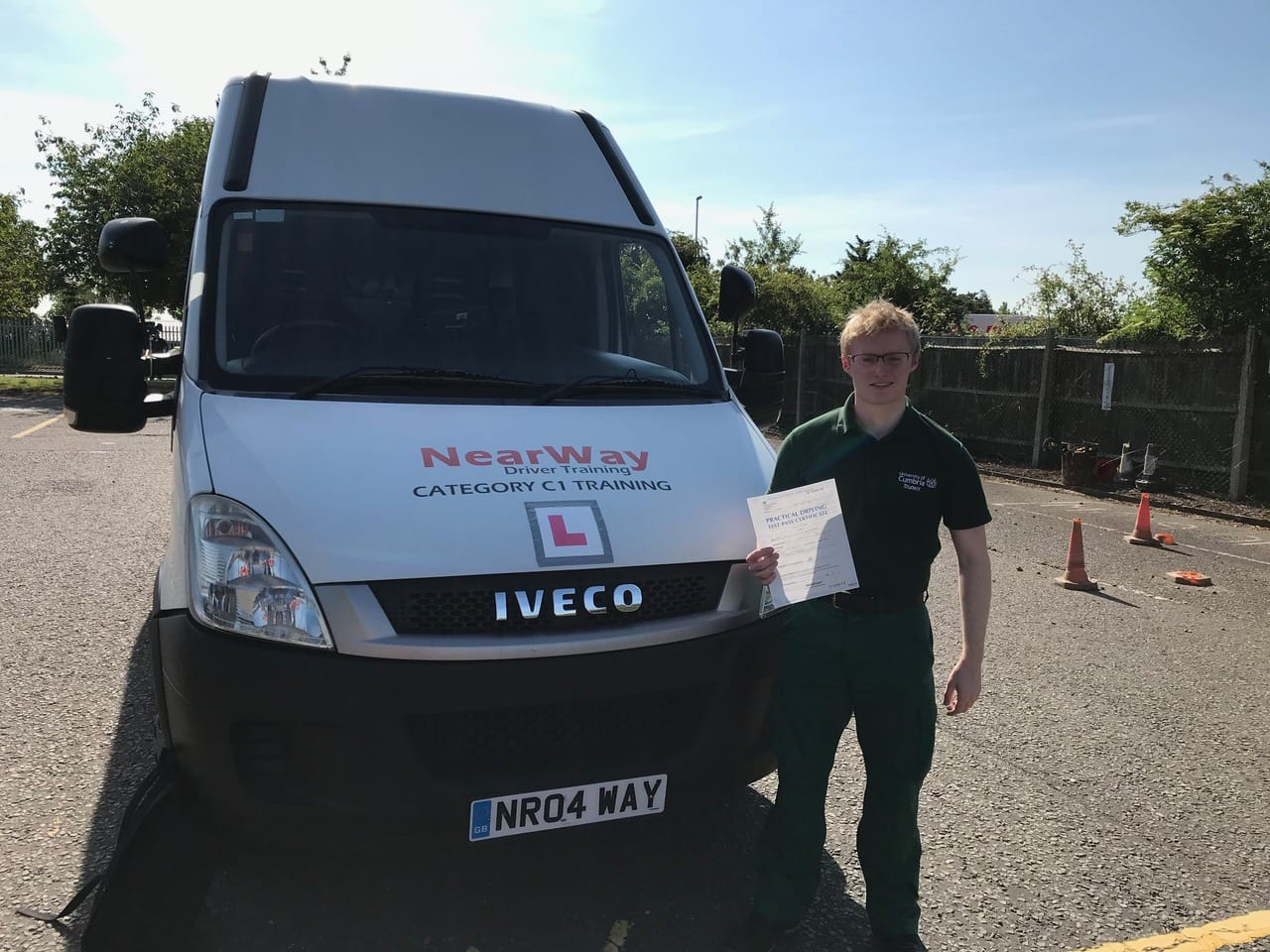 Conor Spilsbury C1 Ambulance Test