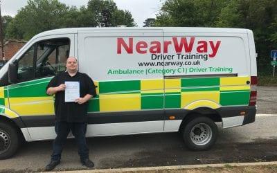 Matthew Whitehead C1 Driving Licence
