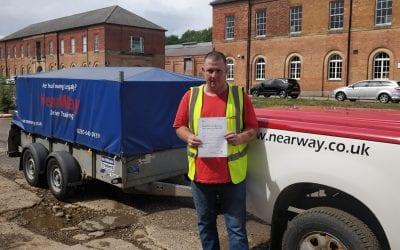 Duncan Corby trailer test