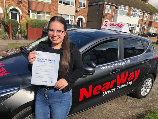 Daniela Tepu Driving Test Pass