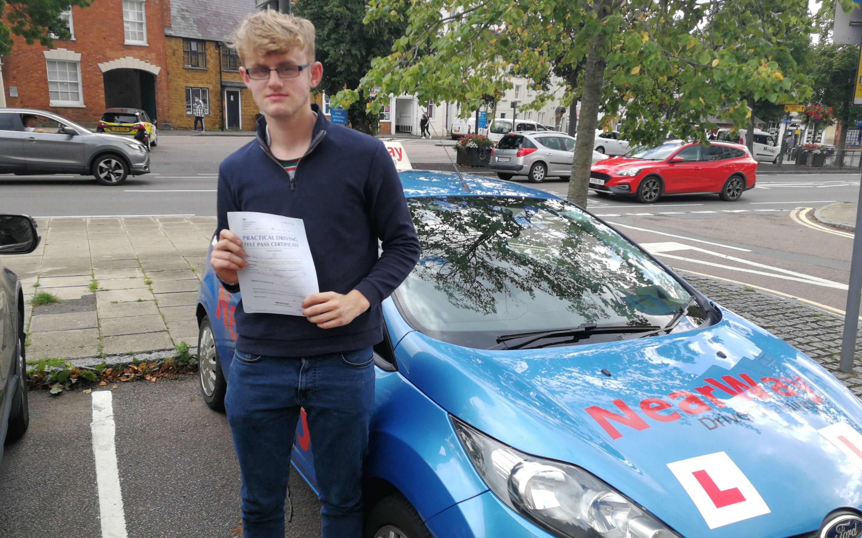 Harry Westland Driving Test Pass