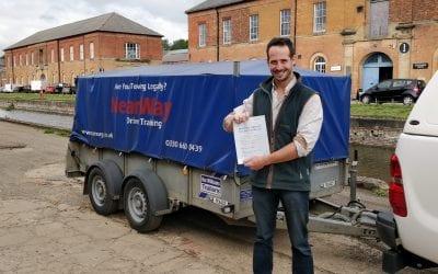 Harry Westaway Trailer Test Northamptonshire