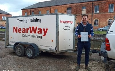 Harry Williams Car and Trailer Test Weedon