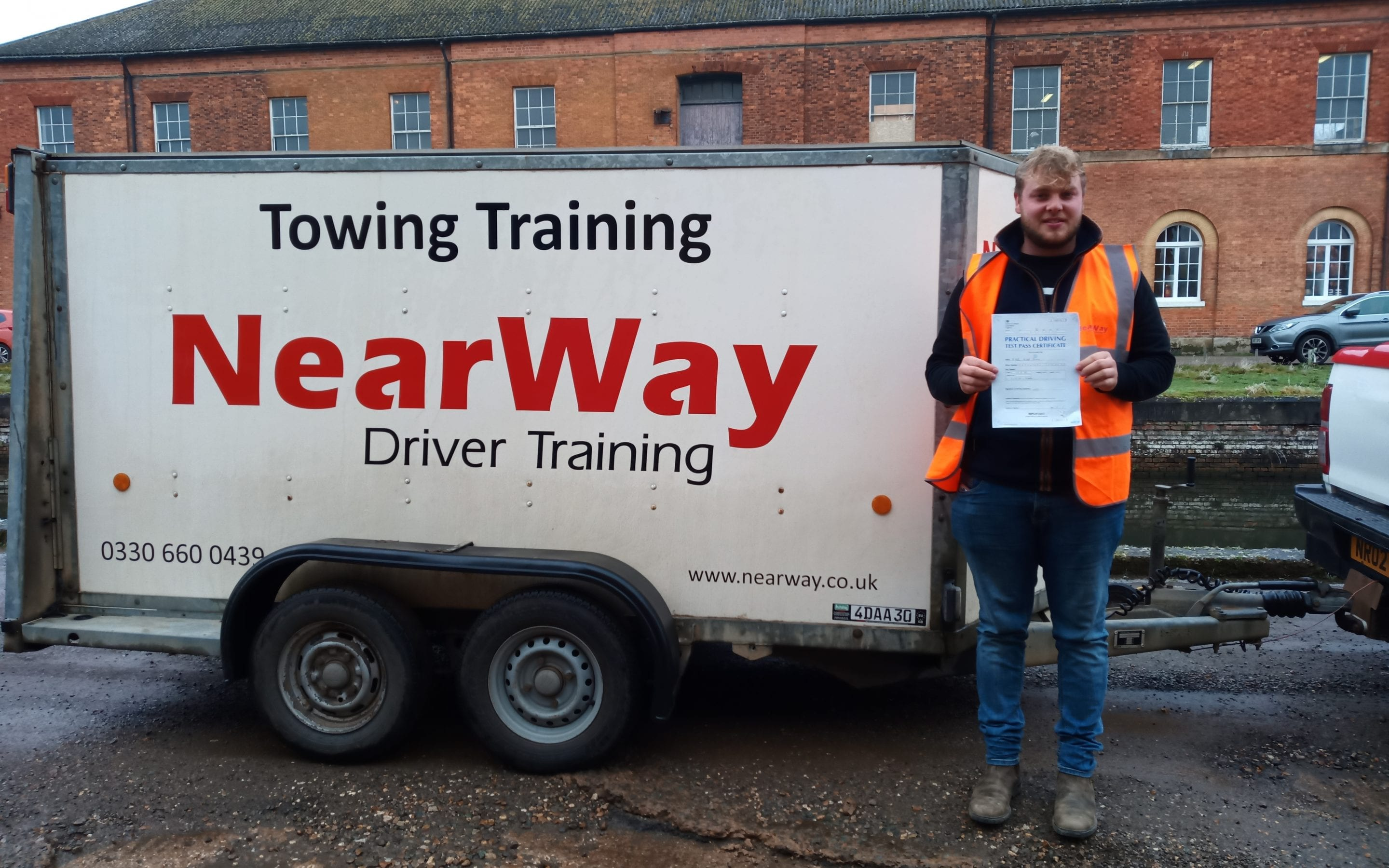 Kallum Parsons Towing Test Weedon