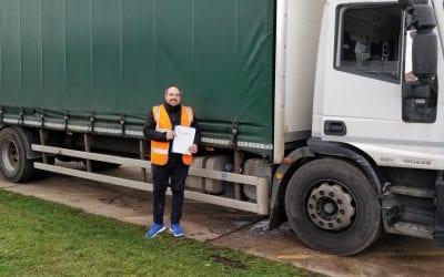 Richard Cummings Lorry Training Oxfordshire