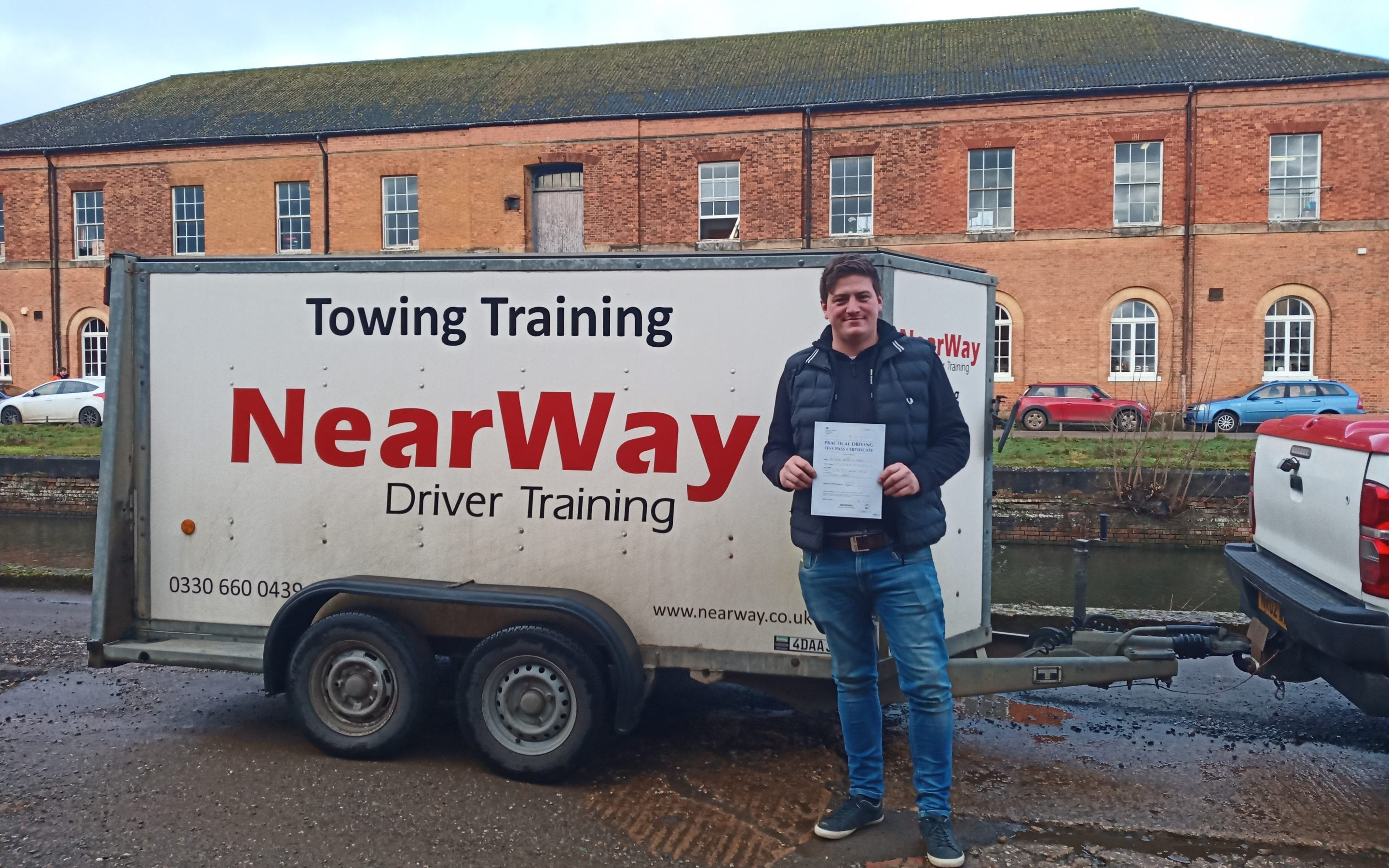 James Feasey Towing Test Weedon