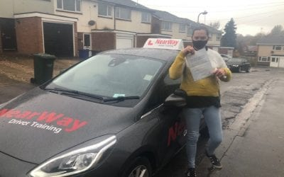 Jackie Hammond Driving Test Pass Banbury