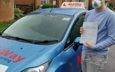 Sebastian Savory Driving Test Pass