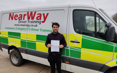 Harry Chandler C1 Test Pass Oxfordshire