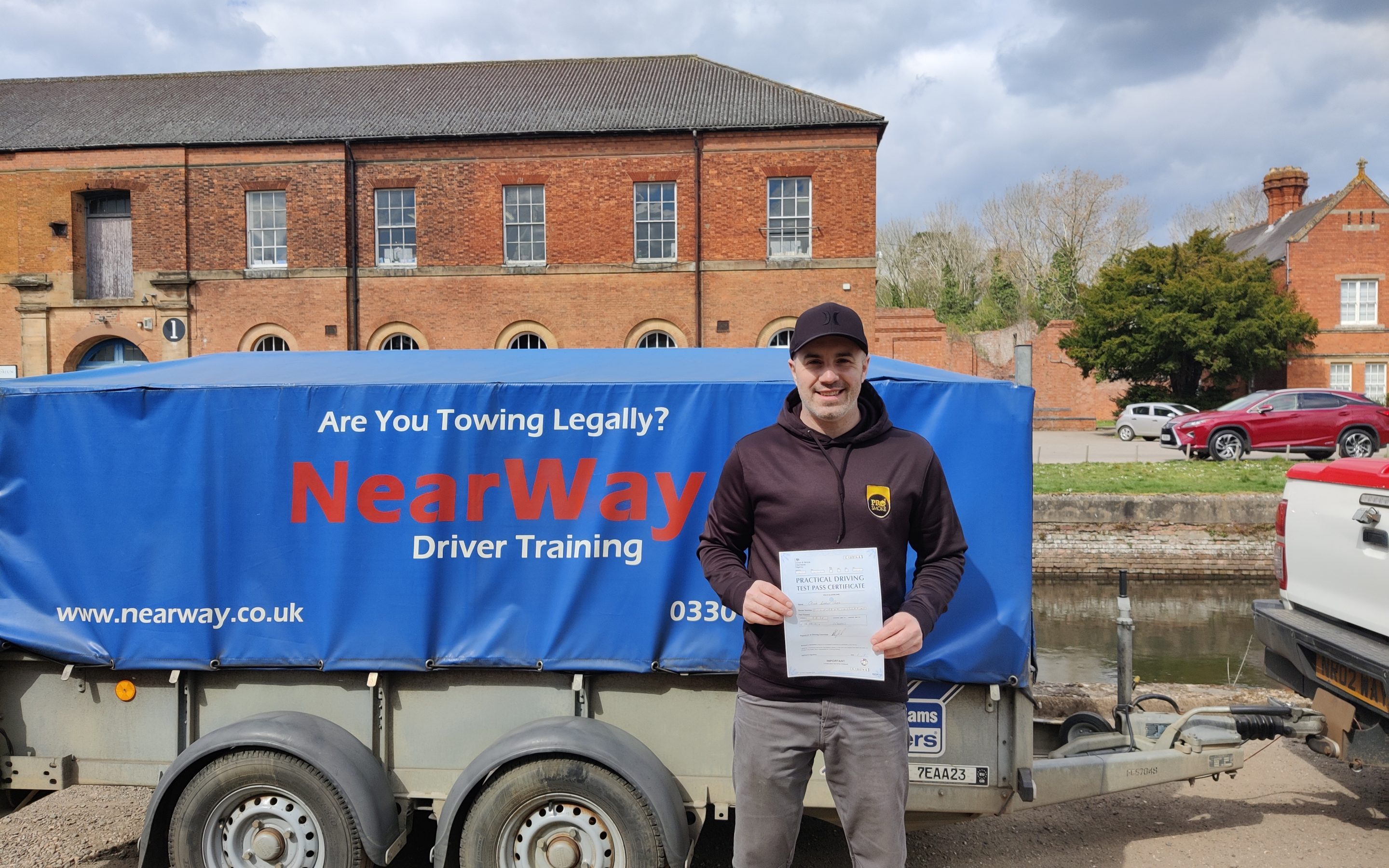 Oliver Giles Towing Test Pass