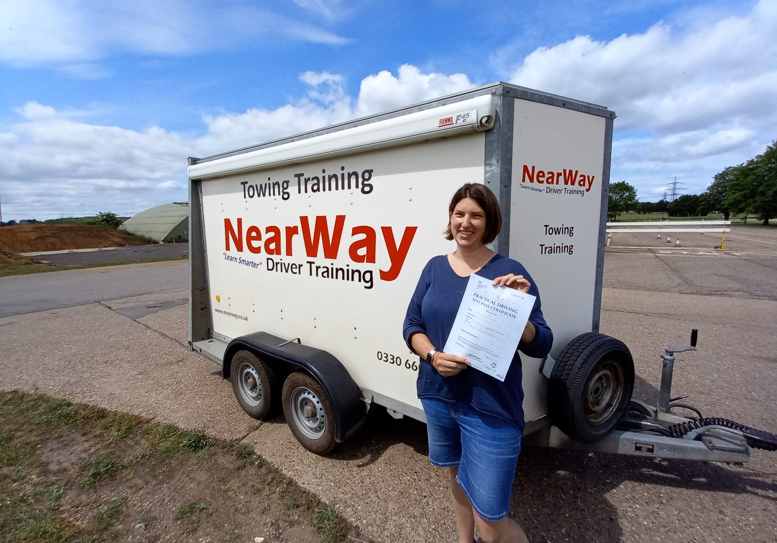 Alice Green Towing Test Pass Oxfordshire