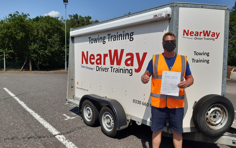 Allistair Collier Towing Test Pass Banbury