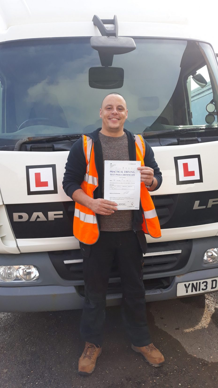Andrew Brown Category C Test Pass Northants