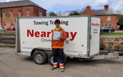 Caleb Stowe Towing Test Pass Northants