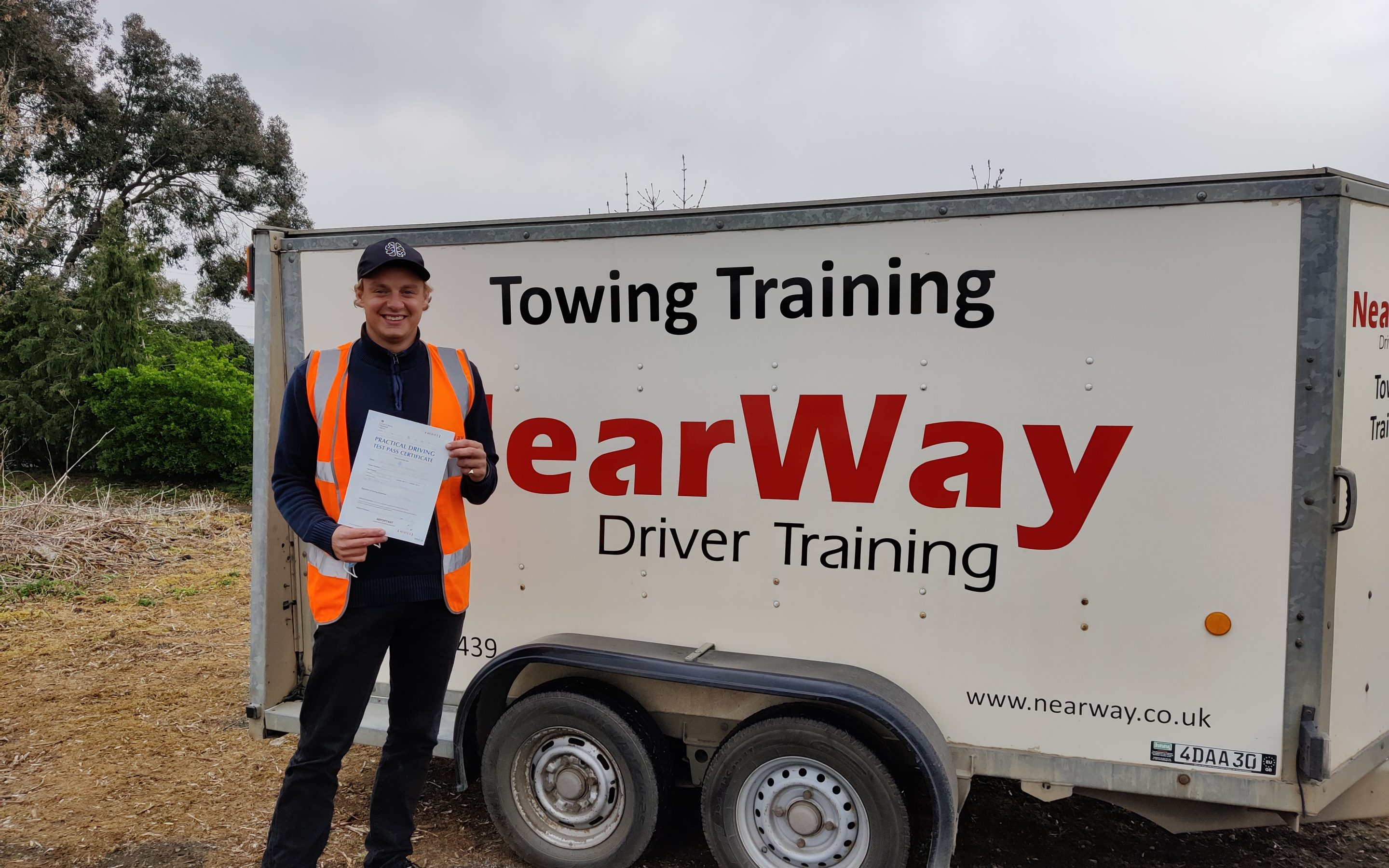 Charlie Henderson Towing Training Test Pass Oxfordshire