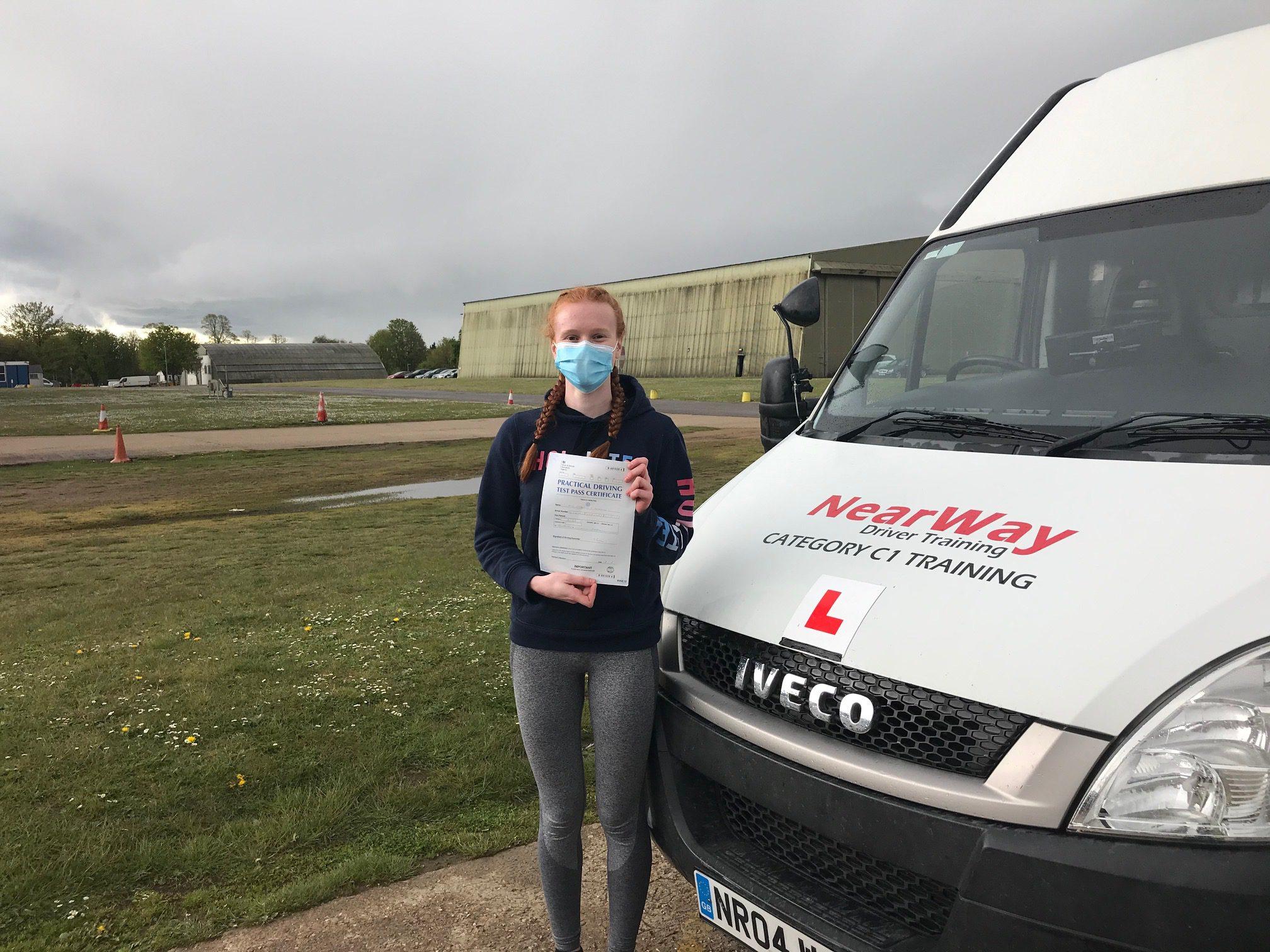 Charlotte Backhouse C1 Test Pass Oxfordshire