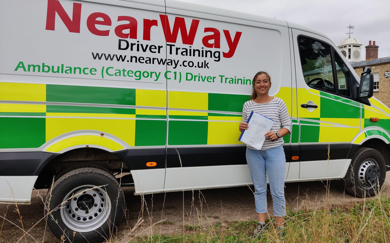 Claire Massey C1 Test Pass Northampton