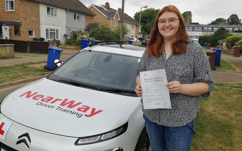Emily Bushrod Car Driving Test Pass Banbury