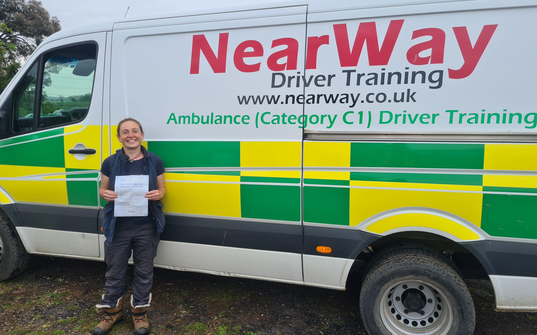 Emma Olliff C1 Test Pass Oxfordshire