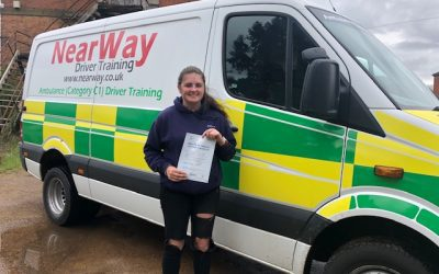Hannah Murray C1 Test Pass Northamptonshire