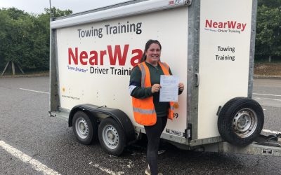 Holly Fitzerman Towing Test Pass Northamptonshire