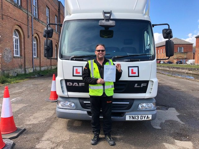 Kevin Barefoot Cat C Test Pass Northants