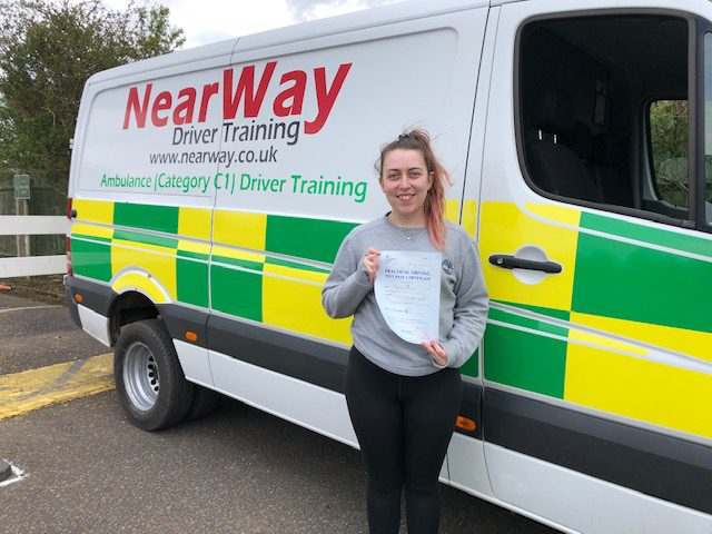 Rebecca McElroy C1 Northampton Test Pass