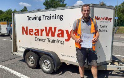Rob Milburn B+E Test Pass Northamptonshire