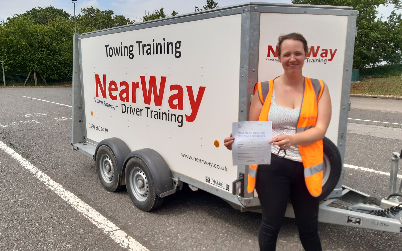 Sara West Trailer Test Pass Northamptonshire