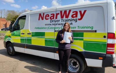 Tilly Neal C1 Test Pass Northamptonshire