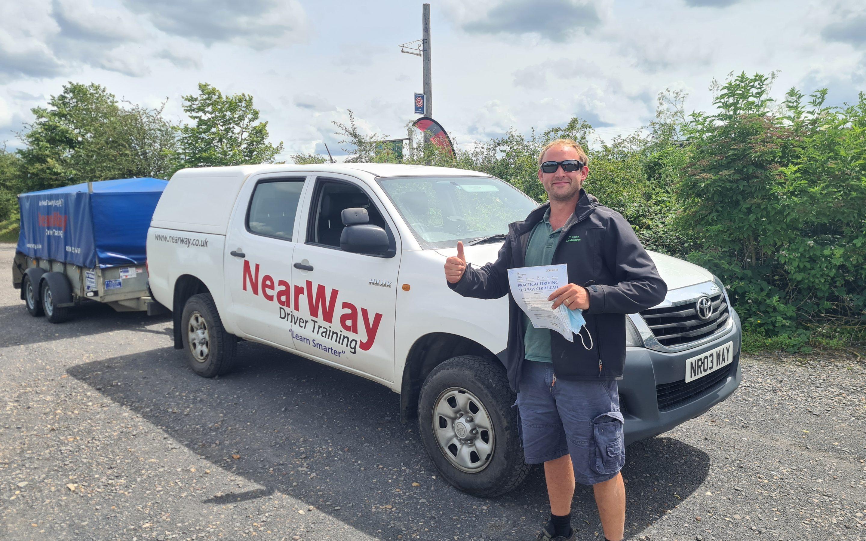 Tristan Vasey Trailer Test Pass Oxfordshire