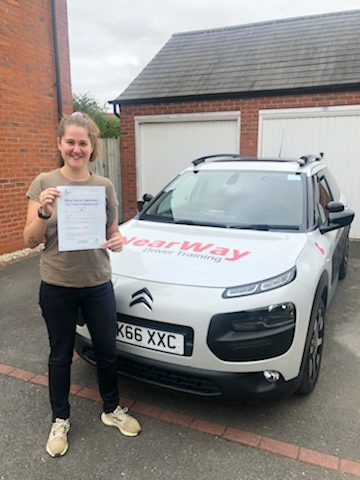Danielle Rouse Auto Driving Test Pass Banbury