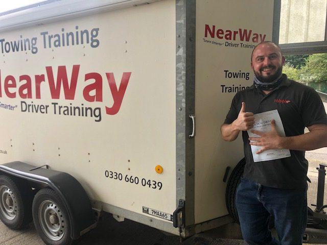 David Wyborn Towing Test Pass Northants